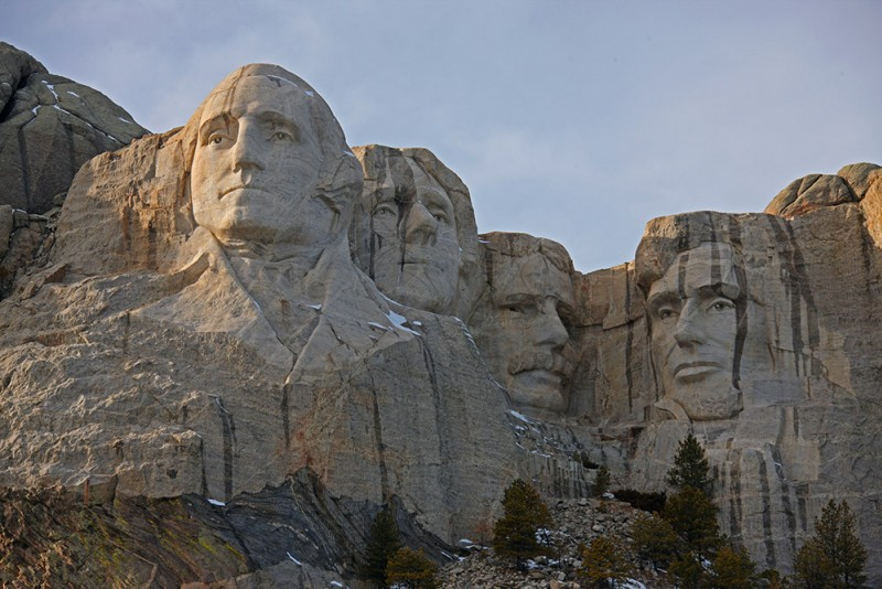 USA - South Dakota - Rushmore Mountain
